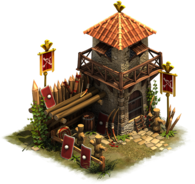 Military building forge of empires
