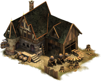 Late Middle Ages Production Buildings Forge Of Empires